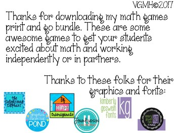 Primary Math Games