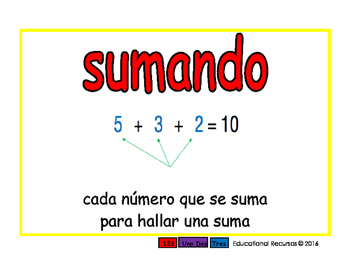 Primary Math/Matematicas por primaria 2-way blue/rojo