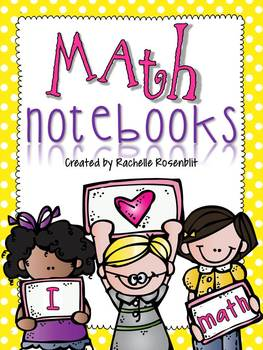 Primary Math Notebooks & More!