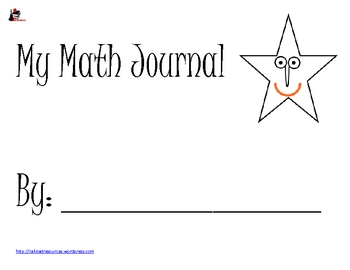 Primary Math Problem Solving Journal
