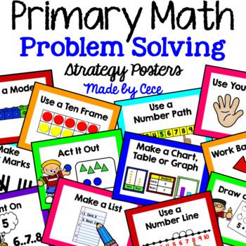 Primary Math Problem Solving Strategies