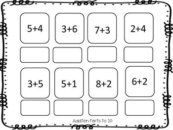 Differentiated Math Stations {Primary}