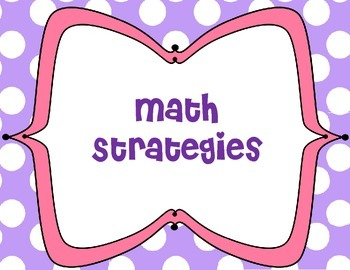 Primary Math Strategies