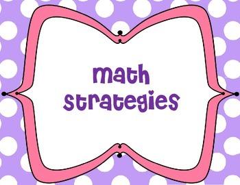Primary Math Strategies