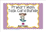 Primary Math Task Card Bundle