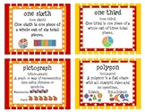 Primary Math Vocabulary Cards