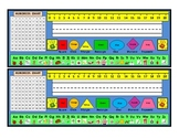 Primary Math and Literacy Desk Name Tags