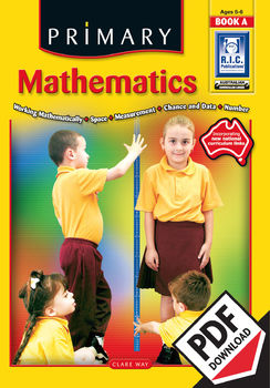 Primary Mathematics Book A – Ages 5–6 ebook