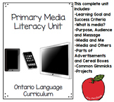 Primary Media Literacy Full Unit Including Final Project