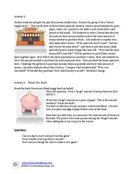 Primary Money Packet
