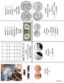 Primary Money Pushbook