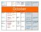 Primary Montessori Academic Calendar
