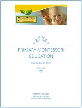 Primary Montessori Education - Understanding the Theory