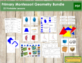 Primary Montessori Geometry Bundle