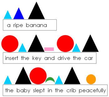 Primary Montessori Grammar Bundle (color-coded)