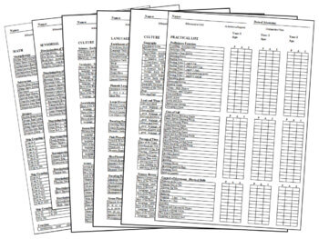 Primary Montessori Record Keeping