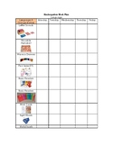 Primary Montessori Work Plan