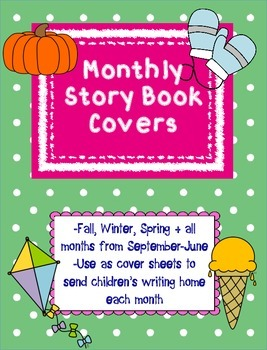 Primary Monthly Story Book Covers