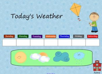 Primary Morning Calendar Smart Board Lesson
