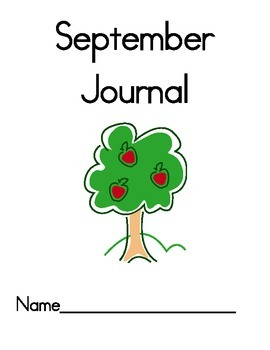 Primary Morning Writing Journals Monthly
