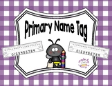 Primary Name Tag