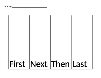 Primary Narrative Organizer