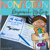 Primary Nonfiction Research Informational Writing Unit