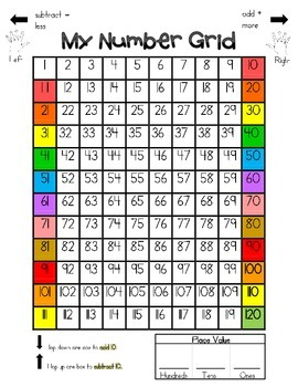 Primary Number Grid and More! REVISED Feb. 2014