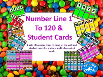 Primary Number Line & Student Cards