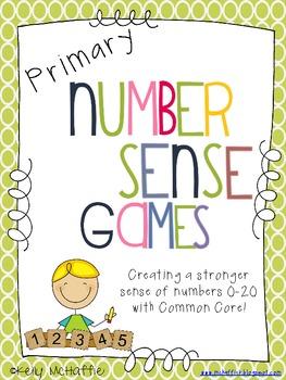 Primary Number Sense Games