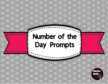 Primary Number of the Day Prompts