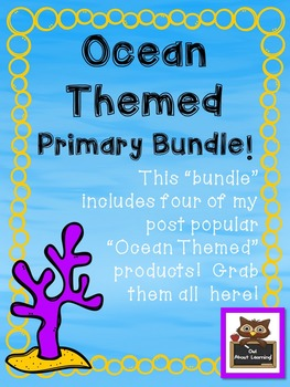 Primary Ocean Bundle! *Desk, Wall, Number Posters & Calendar!*