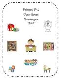 Primary Open House Scavenger Hunt