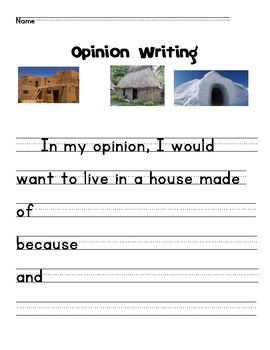 Primary Opinion Writing