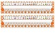 Primary Orange Polka Dot Desk Reference Nameplates