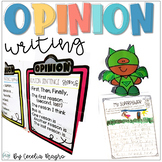 Primary Persuasive/Opinion Writing Unit Correlated with Common Core