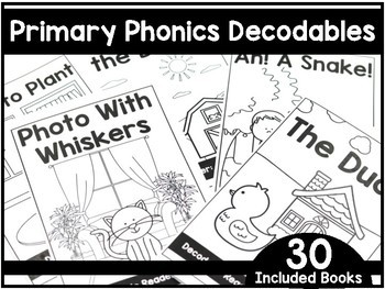 picture relating to Printable Decodable Books for First Grade called Major Phonics Decodable Publications - To start with Quality Phonics