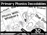 Primary Phonics Decodable Books  - First Grade Phonics
