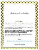 Kindergarten Phys. Ed. Ideas