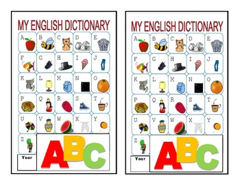 Primary Picture Dictionary for Primary Grades
