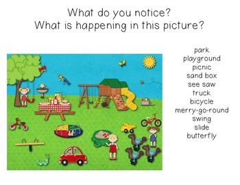 Primary Picture Prompts for Writing and Speaking-SAMPLE