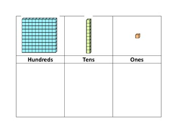 Primary Place Value Mat
