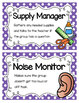 Primary Polka Dot Cooperative Group Roles- Posters and Stu