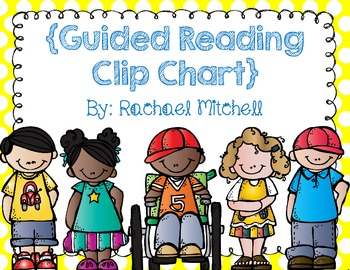 Primary Polka Dot Guided Reading Clip Chart