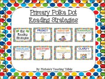 Reading Strategies: Primary Polka Dot