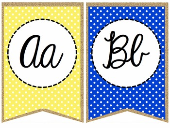 Primary Polka Dot and Burlap Classroom Set