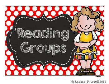 Primary Polka Dot and Chalkboard Guided Reading Clip Chart