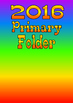 Primary Presidency Covers - for binders