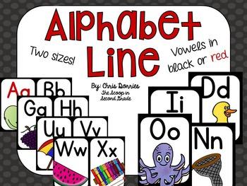 Primary Print Alphabet Line