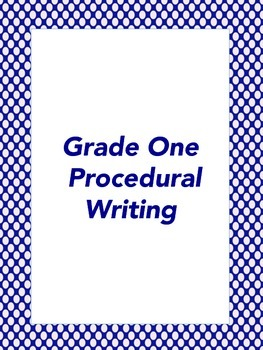 Primary Procedural Writing